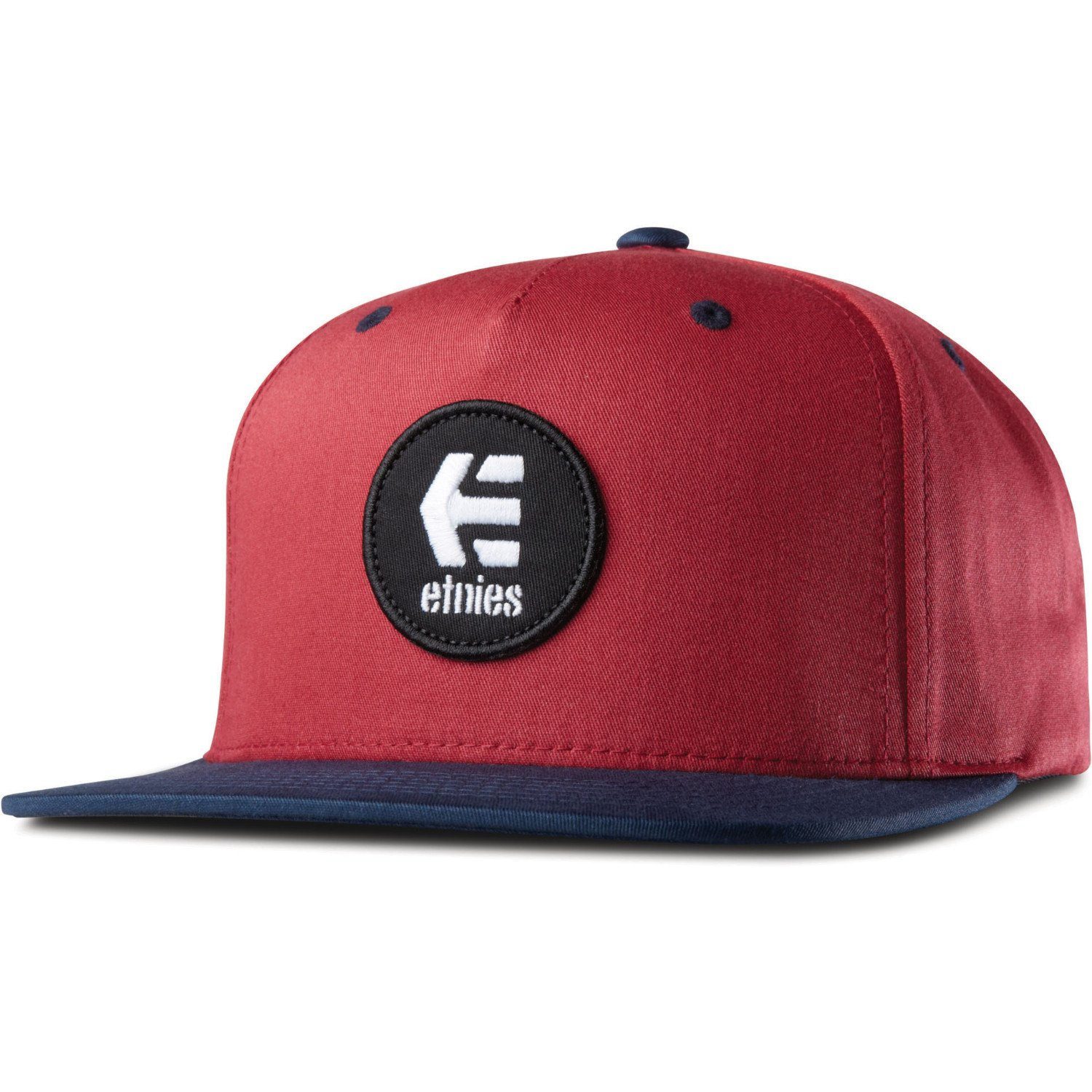 Etnies-Rook Snapback Hat, Color: Burgundy, Size: One Size: Amazon ...
