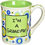 Enesco 4029374 Our Name Is Mud by Lorrie Veasey I'm A Grandpa Mug, 4-1/2-Inch