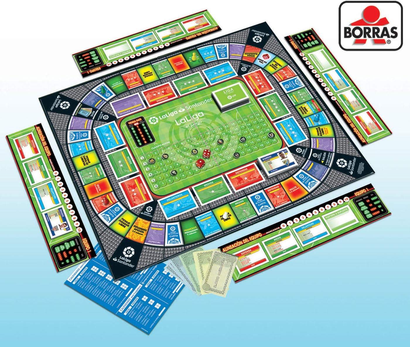 Educa Borrás - La Liga Juego de Mesa de Fútbol (18350) , color/modelo surtido: Amazon.es: Juguetes y juegos