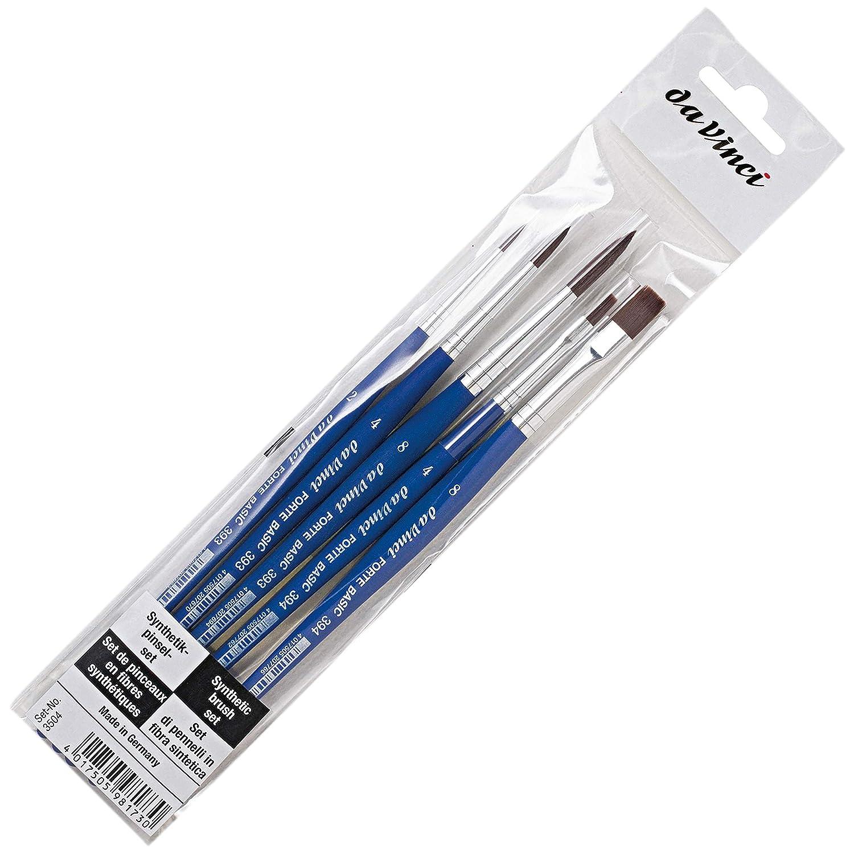 da Vinci 3504 Forte Basic Rugged 5 Brush Student and Beginners Set