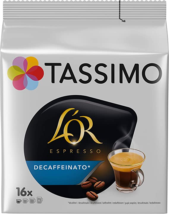 Tassimo Carte Noire Espresso Decaffeinated Pack Of 5 X 16 Capsules Total 80 Capsules
