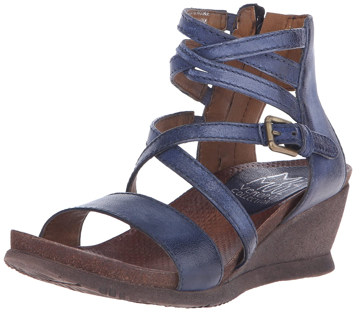 Navy Miz Mooz Women's Shay Fashion Sandals