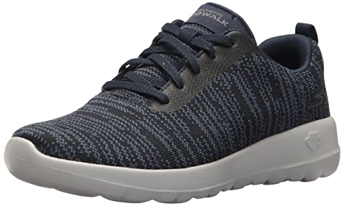 Skechers Go Walk Joy-Rapture, Zapatillas para Mujer, Gris (Charcoal/Black), 38.5 EU
