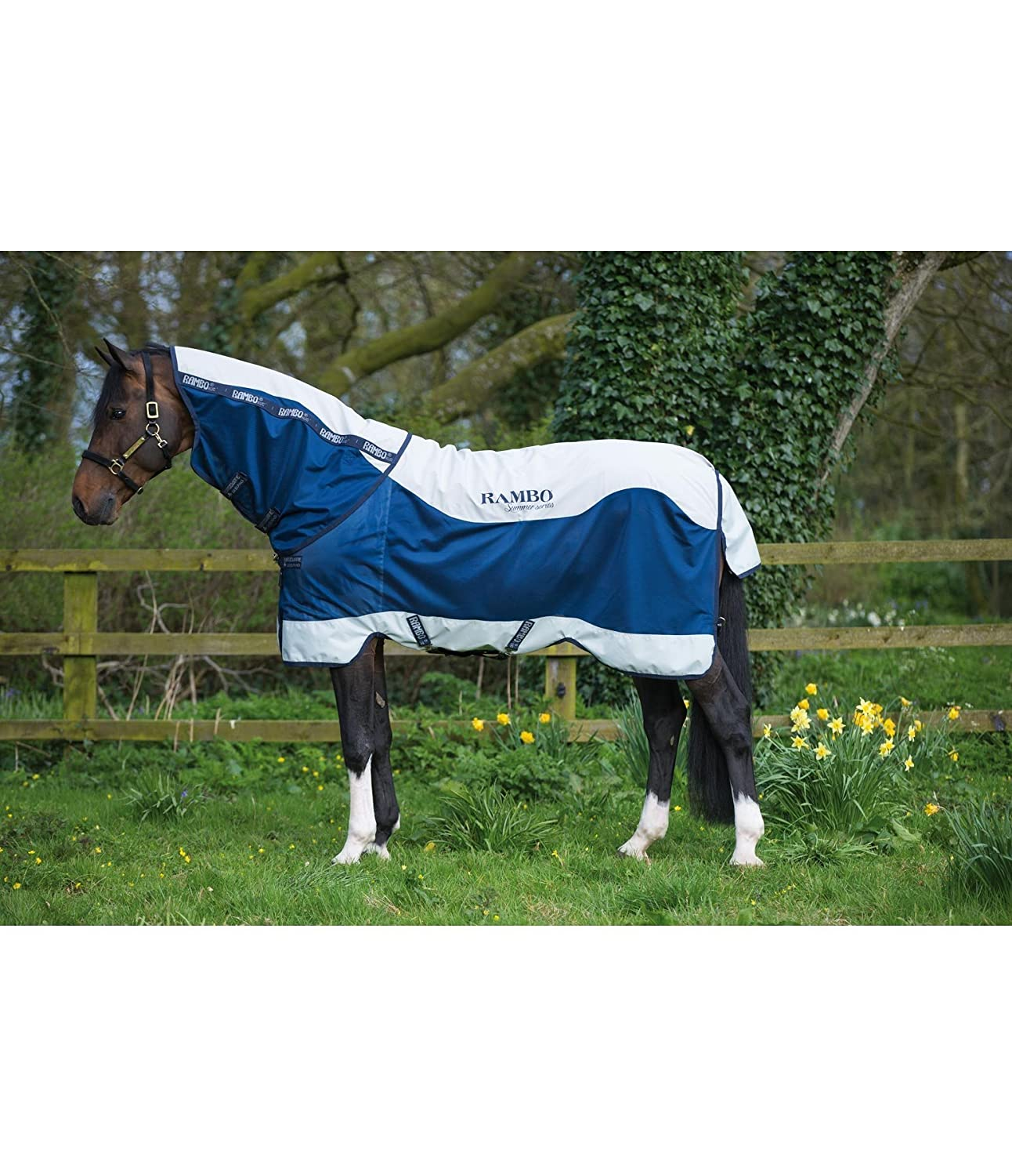 RAMBO Summer Series Turnout Rug 6'6  600D Breathable Waterproof Equestrian Horse