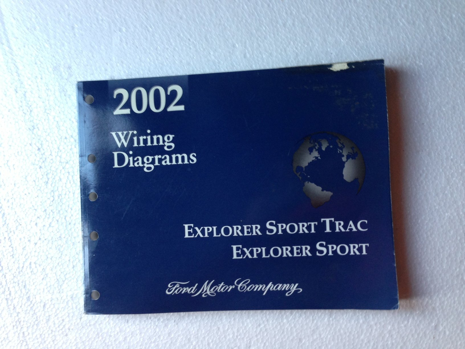 2002 ford explorer sport trac and explorer sport wiring diagram manual  paperback – 2002