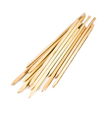 amazon com perfect stix semi pointed wooden skewers 4 5 x 11 64