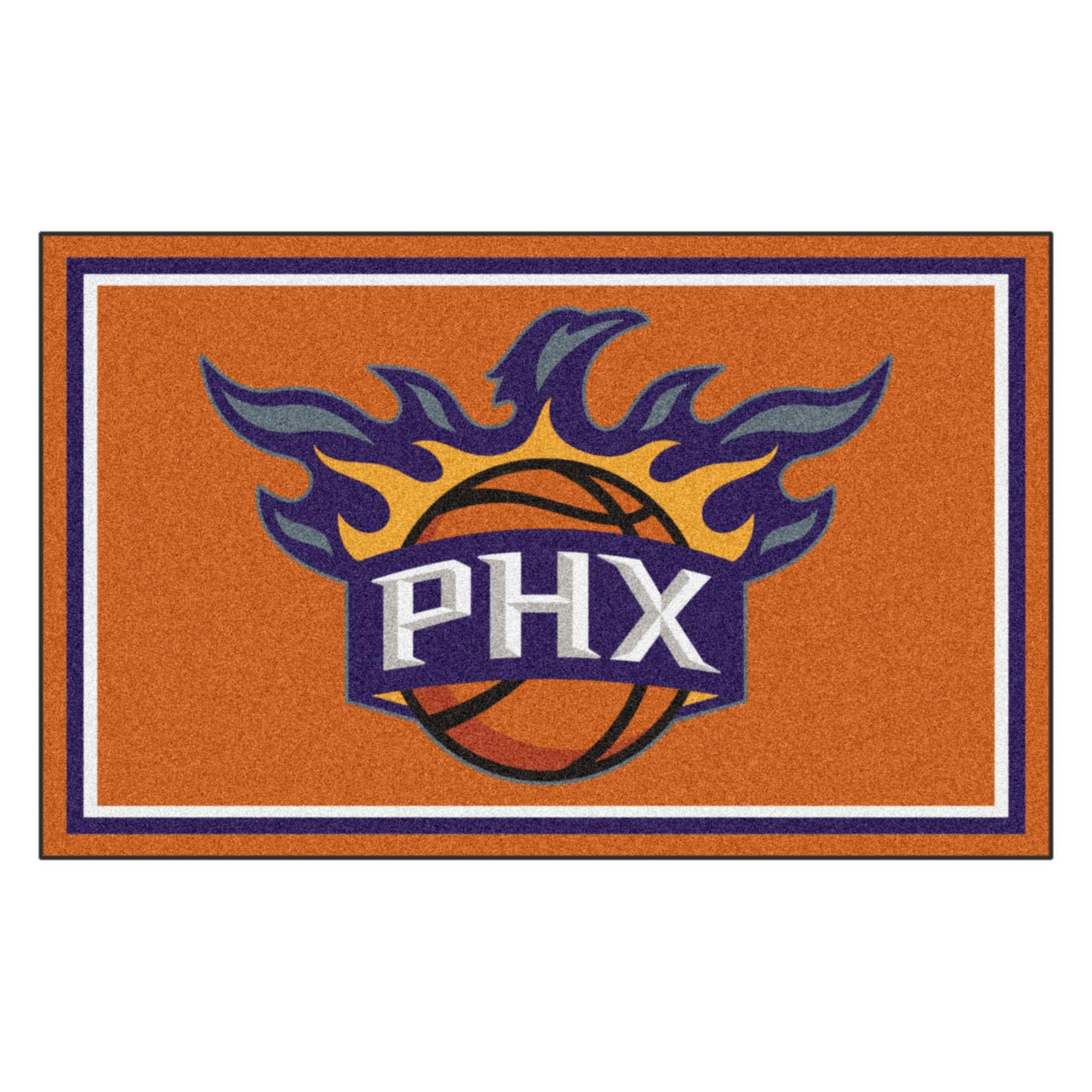FANMATS 20441 44''x71'' Team Color NBA - Phoenix Suns Rug