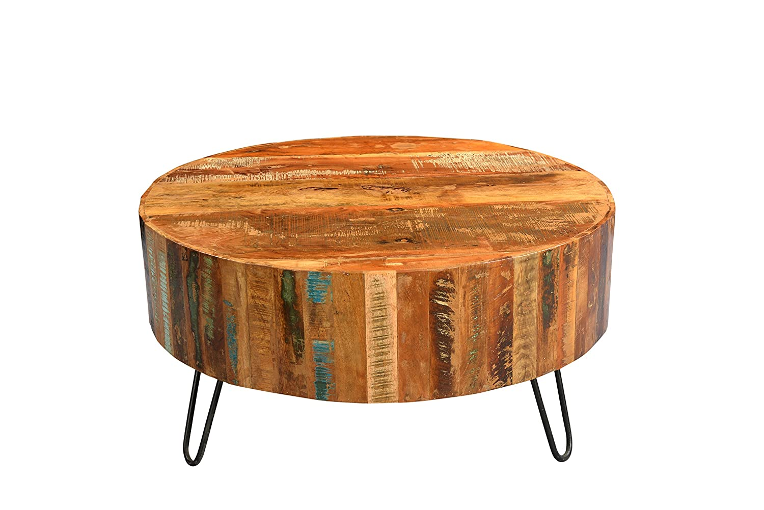 Porter Designs SBA-1091A Tulsa Wood Round Coffee Table