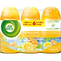 Air Wick Freshmatic Air Freshener, Automatic Spray Refills, Sparkling Citrus, 3 Refills