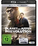 Planet der Affen: Prevolution  (4K Ultra-HD) (+ Blu-ray) [Alemania] [Blu-ray]