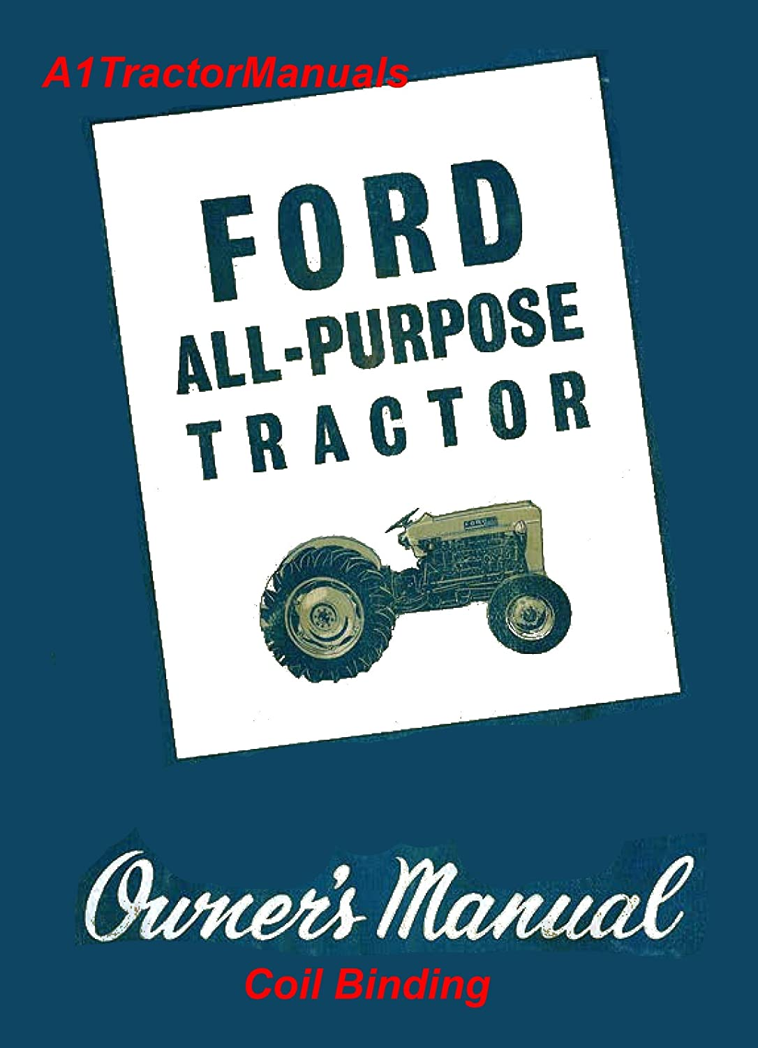 Ford Tractor 340b Ignition Wiring Diagram 4000 Libraryford Libraryamazon Com
