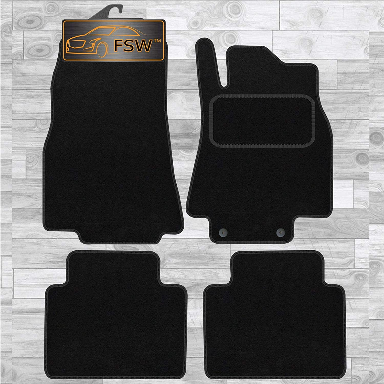 FSW B Class 2005-2012 Tailored Carpet Car Floor Mats Black