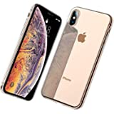DTTO iPhone XS 専用ケース TPU ソフト クリア 超薄型 超軽量 ワイヤレス充電対応 水洗い可 傷つき防止 クリア