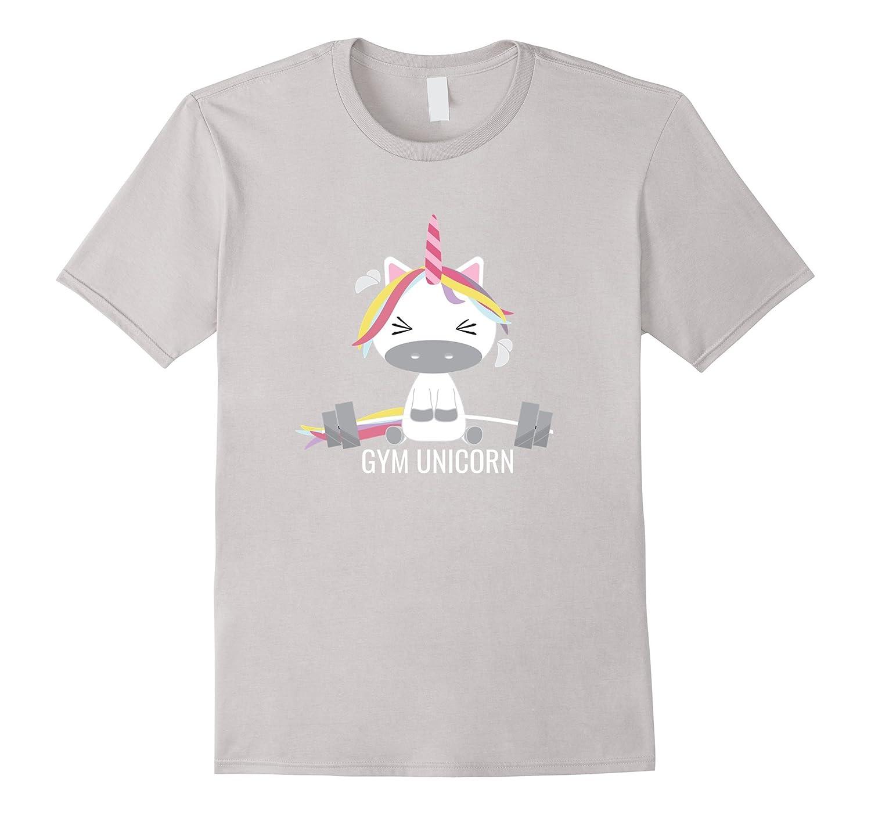Gym Unicorn T-Shirt Men Women And Kids Styles-CD
