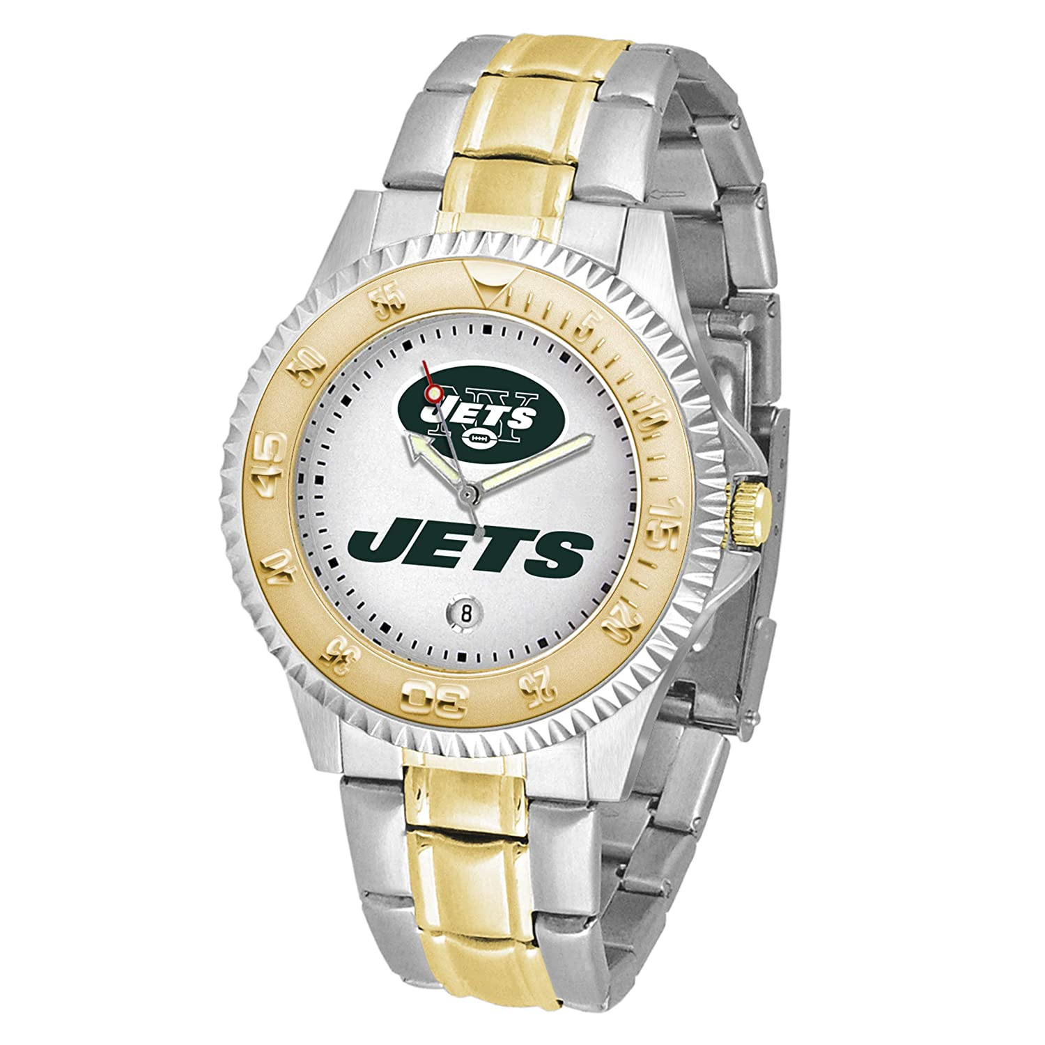 Team Color Gametime Watches NFL Mens Two Tone Competitor Series Watch