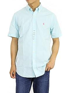 6229506bcf38 Polo Ralph Lauren Mens Short Sleeve Seersucker Sport Shirt (Hammond,  X-Large)