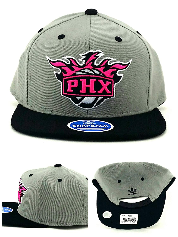 adidas Phoenix Suns PHX NBA neón Nuevo Vibe Gris Rosa Negro Gorra ...