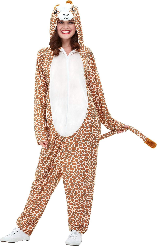 Smiffys 50713XL - Disfraz de jirafa para adulto, unisex, color ...