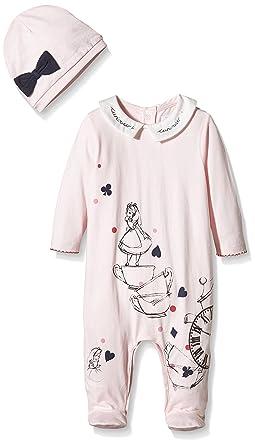 Mamas Papas Baby Girls 0 24m Disney Alice In Wonderland Al In One