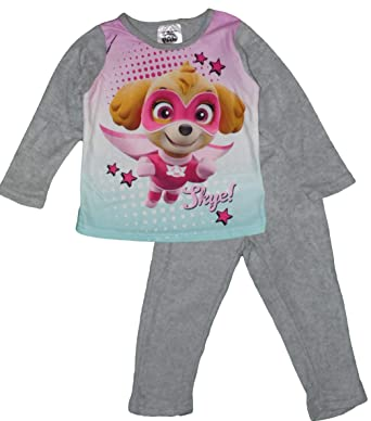 8e83d58932a55 Nickelodeon Paw Patrol Filles Polaire Pyjama (5 Ans