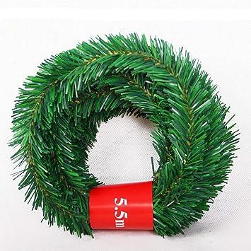 Amazon Com Lsky 18 Feet Christmas Garland Artificial Pine Garland