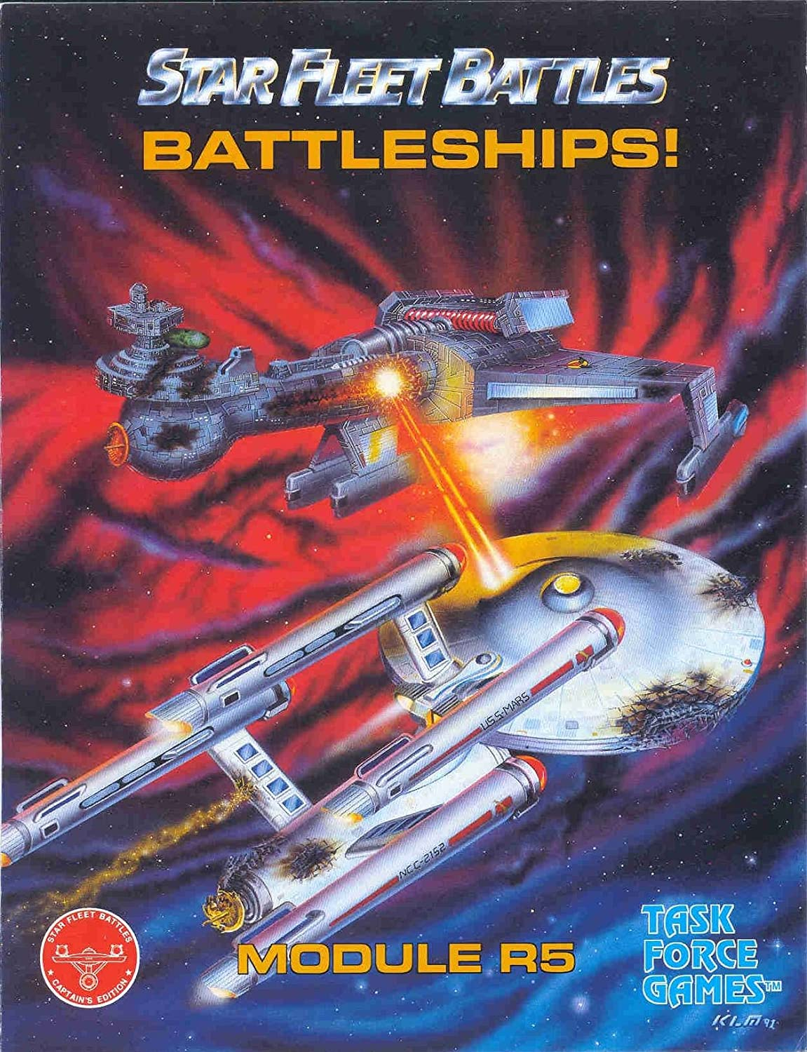 ADB: R5 Module, Battleships!, for the Star Fleet Battles Games Series ADB Amarilo Design Bureau 5610