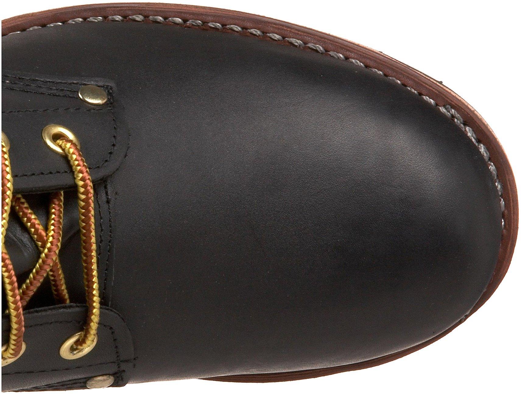 Georgia Boot Men's Logger 8'' Black Non Steel,Oily Black,5 M US by Georgia Boot (Image #7)