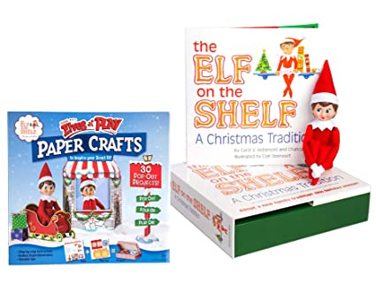 Amazon Com The Elf On The Shelf A Christmas Tradition Girl Scout