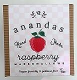 Ananda's Fresh Vegetarian & Vegan Raspberry Marshmallows 90g