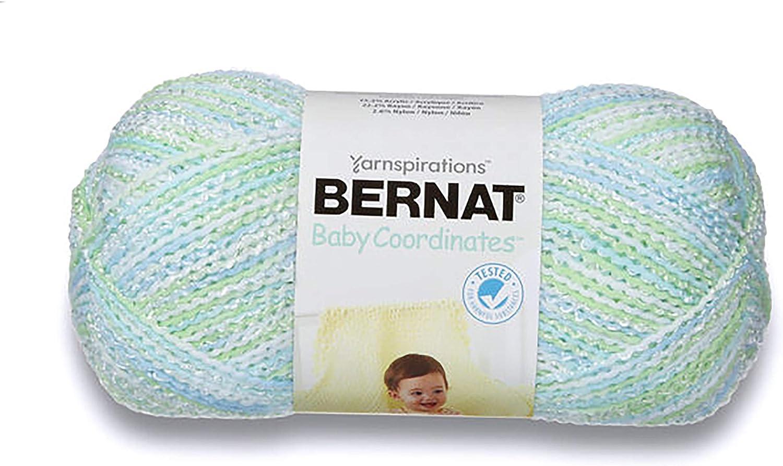 Spinrite 166049-49412 Baby Coordinates Yarn Ombres-Dove Girl