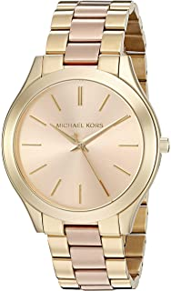 Amazon.com  Michael Kors Women s Runway Rose Gold-Tone Watch MK3197 ... 4844f365be
