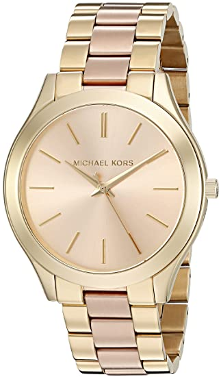 5d5184403ec6 Michael Kors Reloj analogico para Mujer de Cuarzo con Correa en Acero  Inoxidable MK3493  Michael Kors  Amazon.es  Relojes