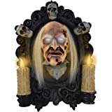 "Tekky Toys Drop Down Portrait, Animatronic Halloween Decoration with Sound, 10.83"" x 15.35"" x 4.5"""