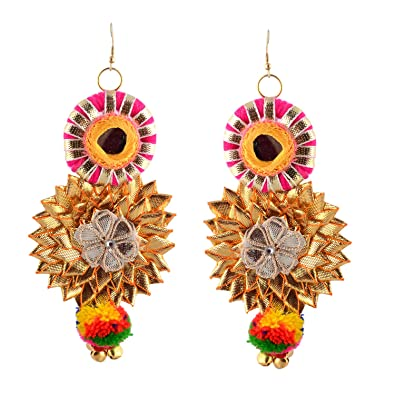 vendors ethnic indian black beautiful earrings palace exclusive beauty look stylish j