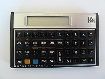amazon com hp 16c computer scientist s calculator scientific rh amazon com hewlett packard 16c calculator owner's manual HP-16C Calculator America