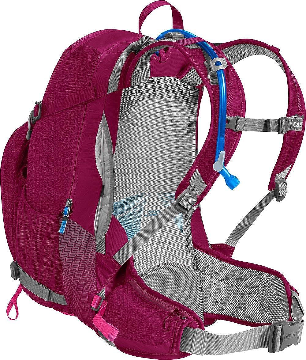 CamelBak Sundowner LR 22 Sac /à dos dhydratation pour femme Rouge//rose