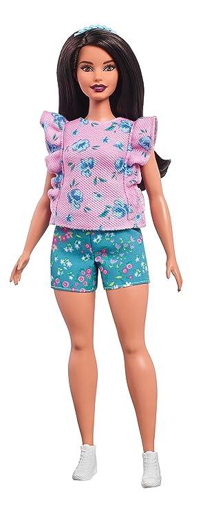 Barbie Fashionista, Muñeca Flores Fashion, Juguete +7 años (Mattel FJF43): Amazon.es: Juguetes y juegos