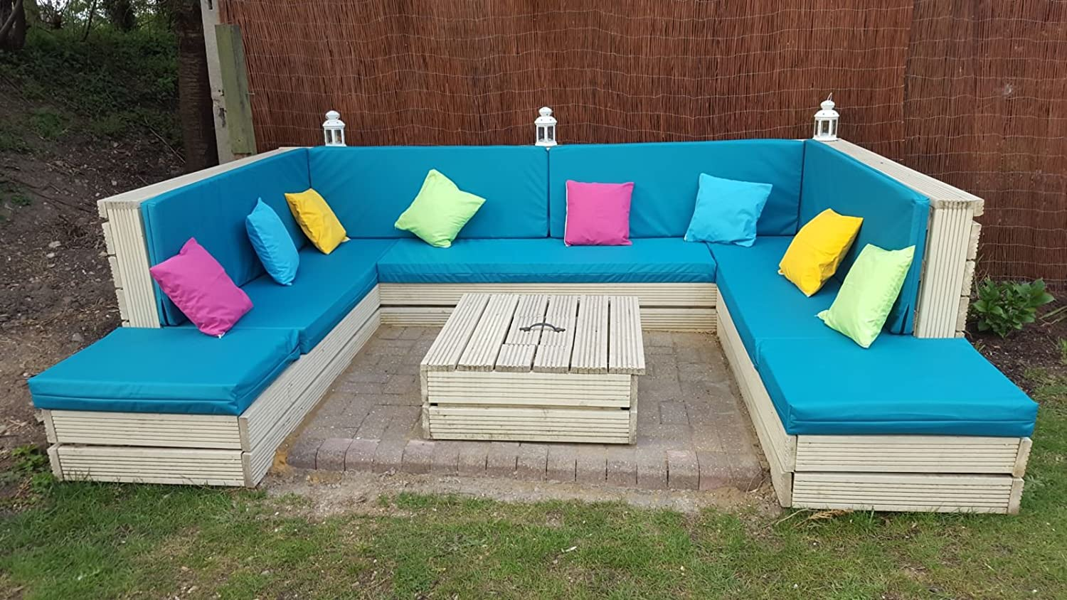 Made to Measure - Quote & Fabric Samples for waterproof cushions for - Pallet Furniture - Rattan Furniture - Garden Furniture - Campervans - Caravans & Boats - Over 20 Colours Zippy UK Ltd