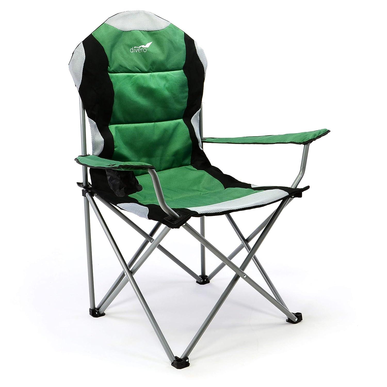 Sedia PIEGHEVOLE CON SPALLIERA Sedia da pesca sedia sedia da giardino sedia da campeggio sedia Angel