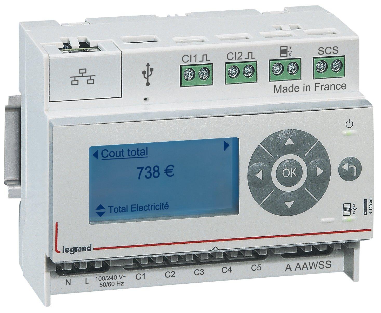 Blanc CT/ Efergy /émetteur /sans Fil