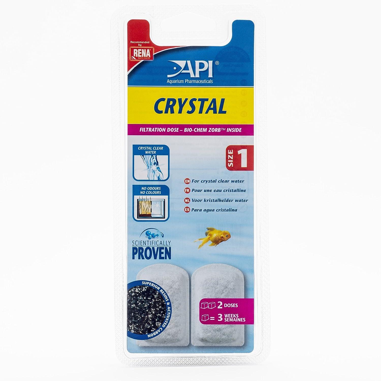 Apl Accessoire pour Aquariophilie Dose Crystal Boîte de 2 Taille 1 Agrobiothers ADC650602
