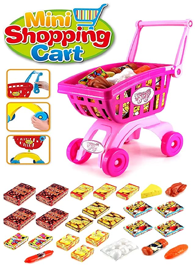 Toys Bhoomi Learn & Play Toddlers Market Trolley Activity Kitchen Playset Awesome Birthday Return Gifts for Kids