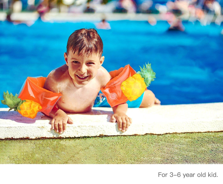 Ananas wanxing Brassard Gonflable Bandes de Bras Flotteurs Piscine Natation pour Enfant