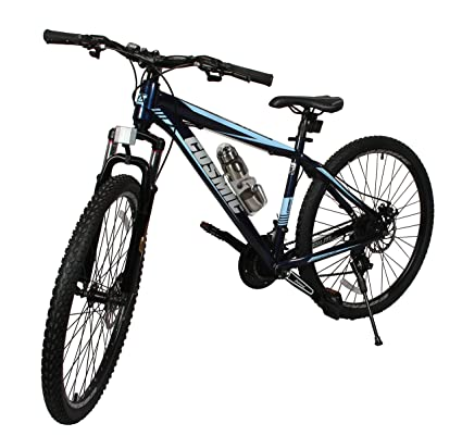 cosmic trium 27 5 inch mtb bicycle 21 speed ink blue amazon in