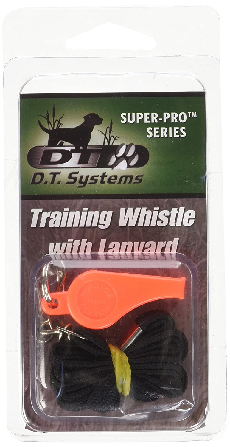 D.T. Systems Super-Pro Orange Dog Training Whistle and Black Nylon Lanyard D.T. Systems* 80042