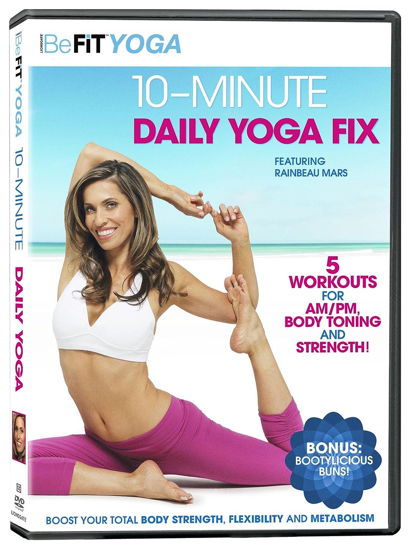 Befit Yoga: 10-Minute Daily Yoga Fix Reino Unido DVD: Amazon ...