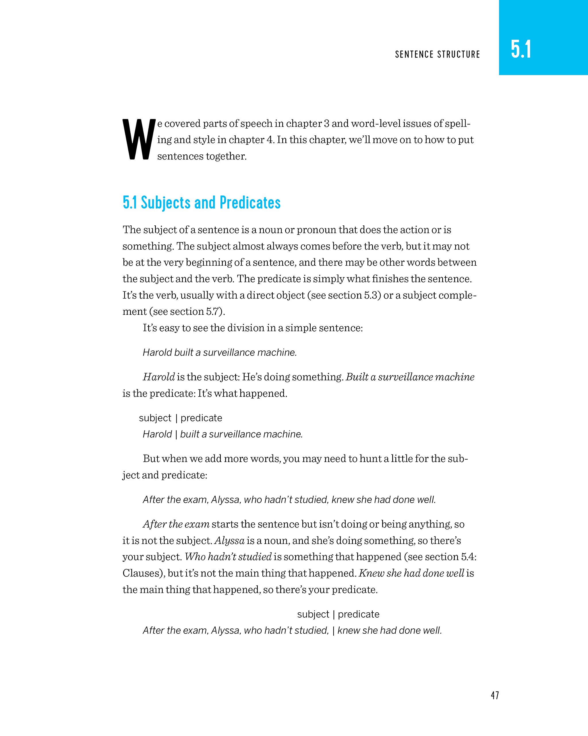 The Perfect English Grammar Workbook Simple Rules And Quizzes To