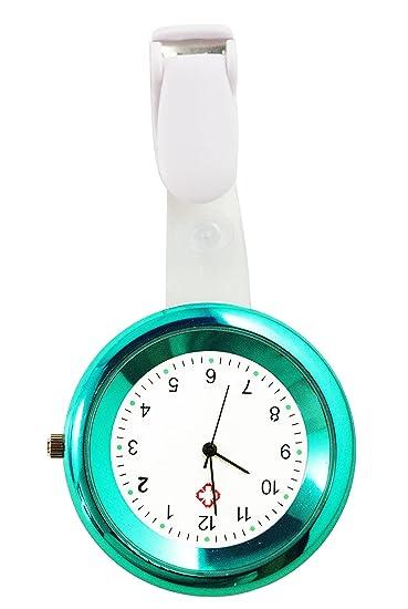Bolsillo 2103 Ellemka Jcm Fob Clip Reloj De Enfermera Médico 80wnPOkX