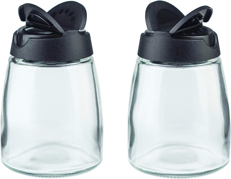 Salt & Pepper Shakers, Moisture-Proof Condiment holders, 2/pack