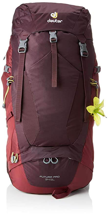 ddeee31d964 Amazon.com   Deuter Futura PRO 34 SL Hiking Backpack with Detachable ...